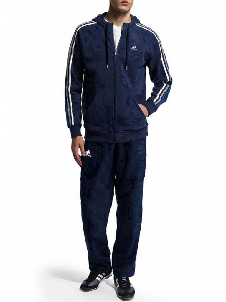 Tracksuit Adidas Team T12 Navy Blue - X12737-X12866