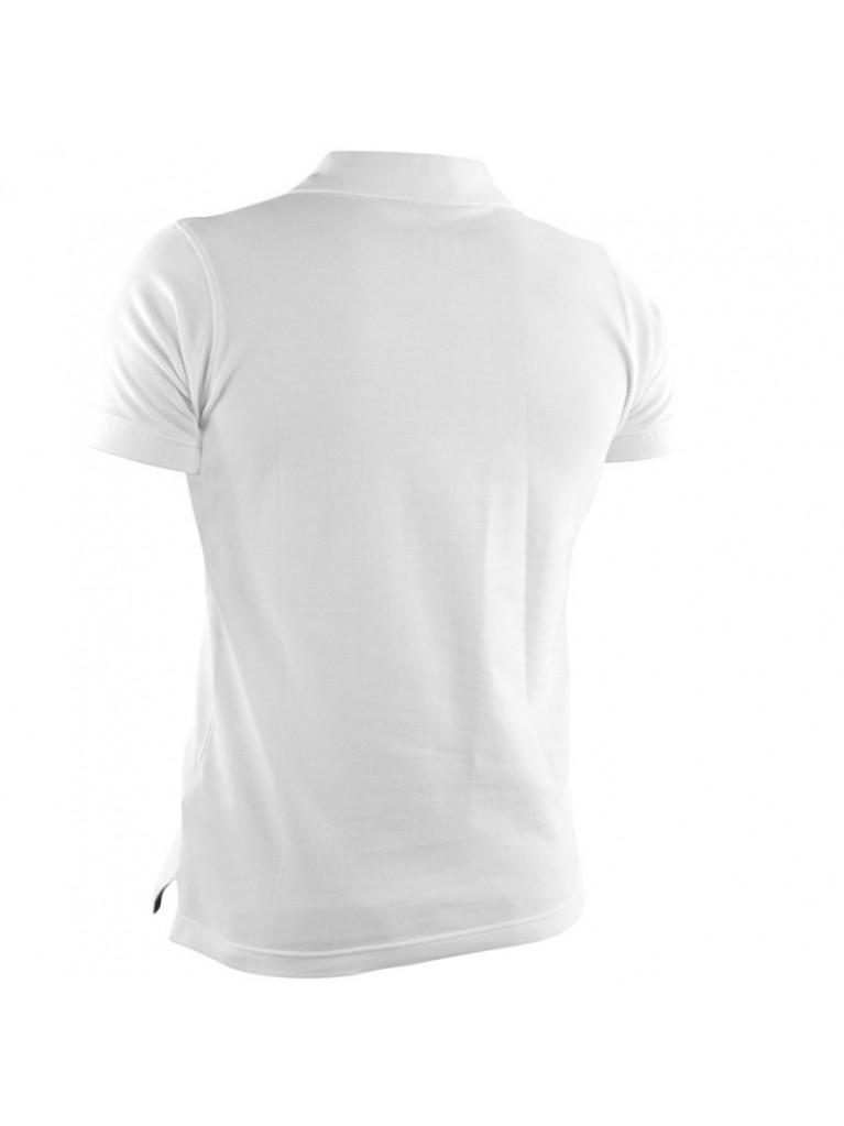 T-shirt Adidas Pique POLO White/Red - adiTS332