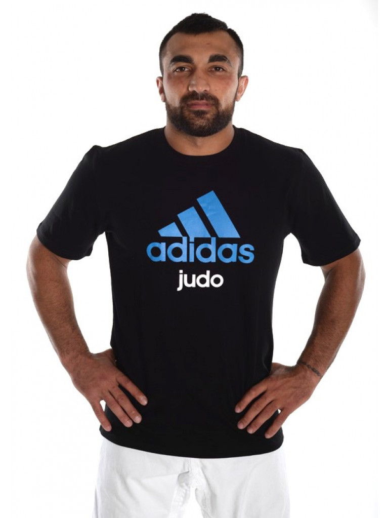 Community T-shirt Adidas Cotton JUDO - adiCTJ