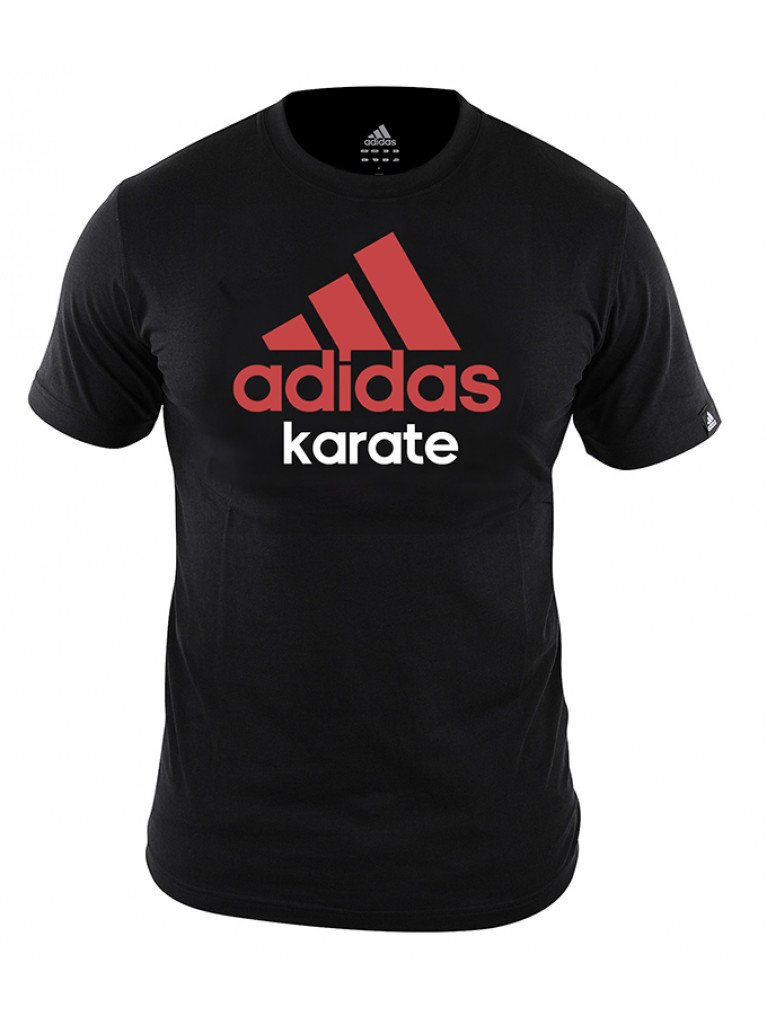 Community T-shirt Adidas Cotton KARATE - adiCTK