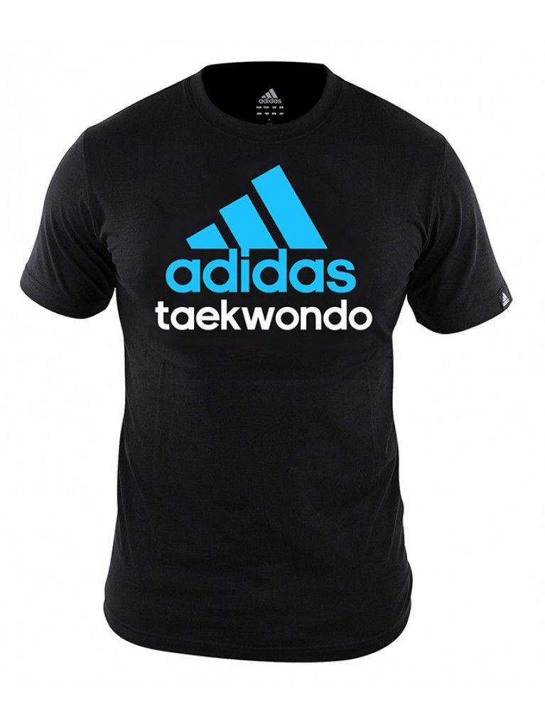 Community T-shirt Adidas Cotton TAEKWONDO - adiCTTKD