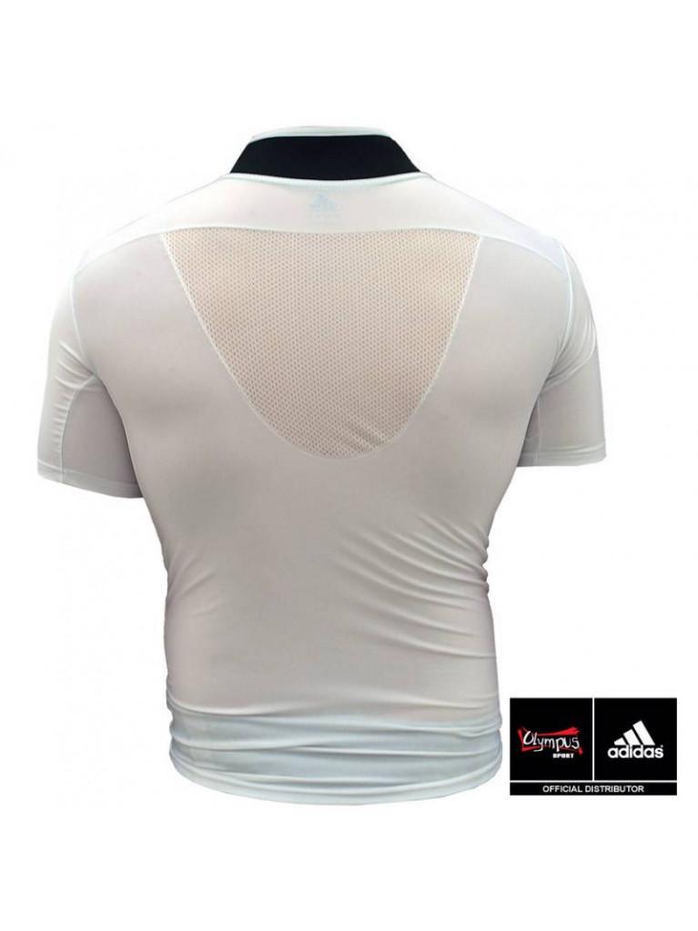 Rash Guard Adidas Collared Short Sleeves - adiTS314