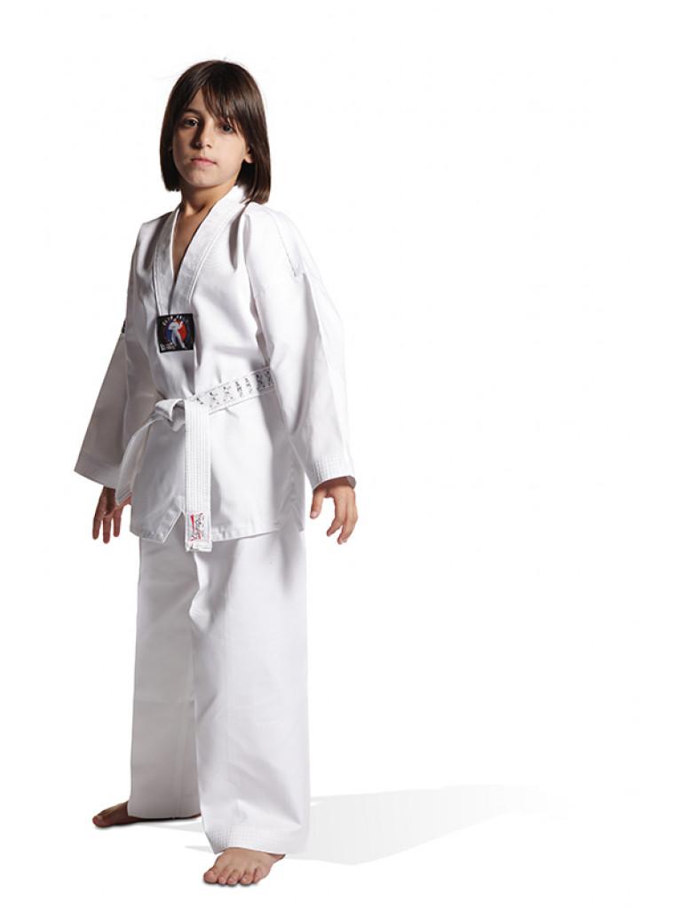 Taekwondo Uniform - KYORUGI RIBBED