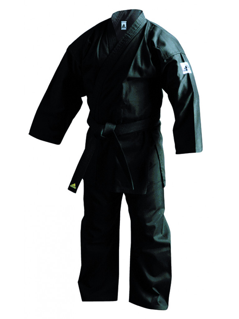 Bushido Uniform Adidas Black K270