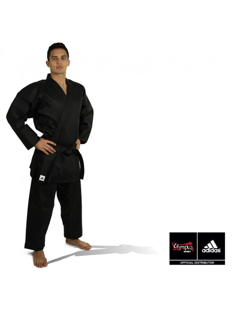 Bushido Uniform Adidas Black K270