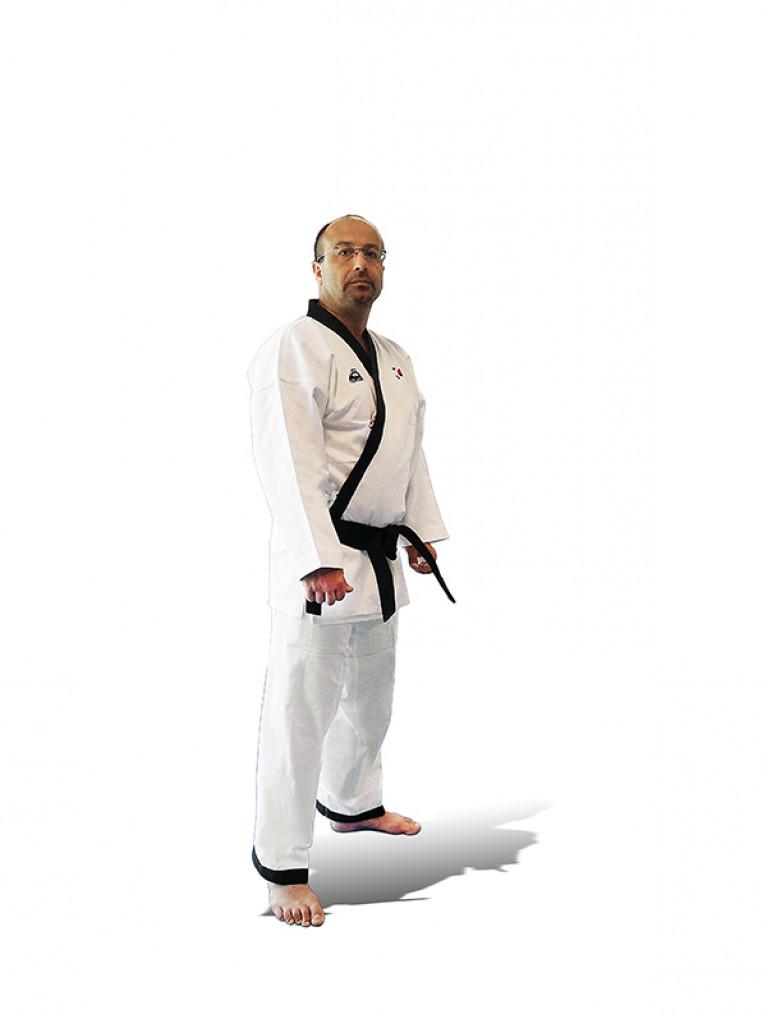 Hapkido Uniform Olympus Black Label Judo Fabric