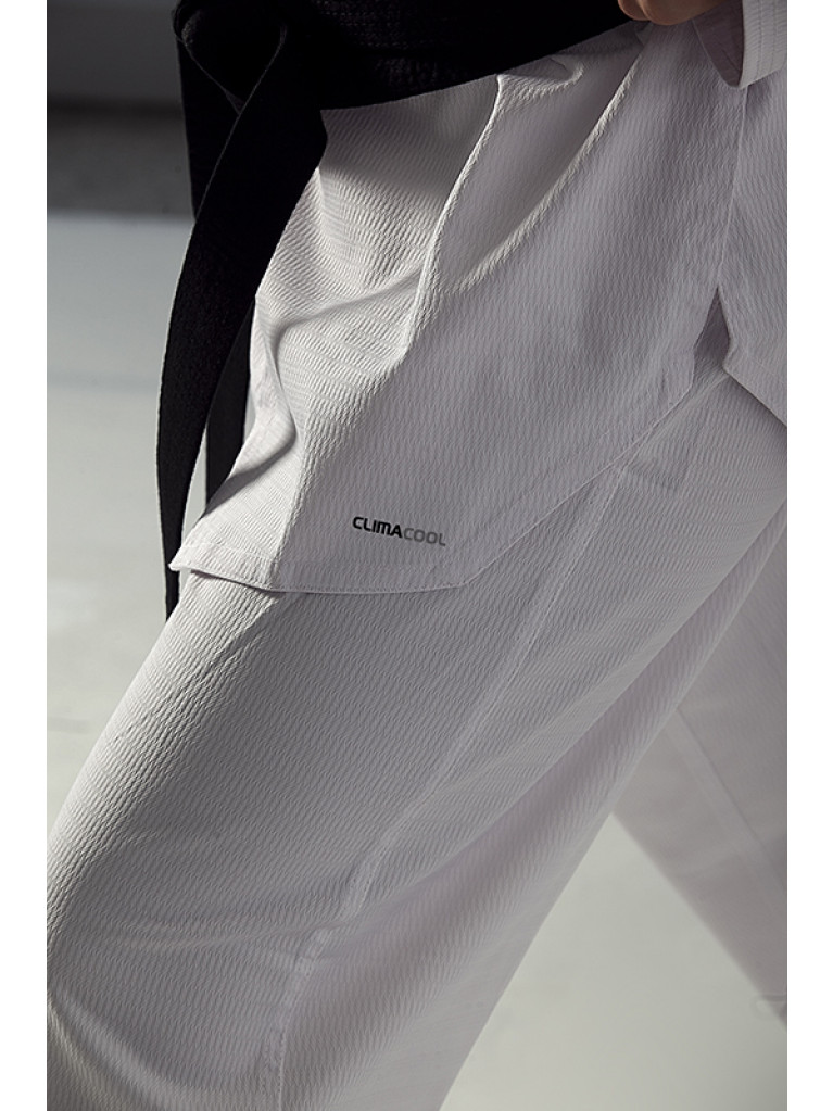Taekwondo Uniform adidas - CHAMPION III Black Collar