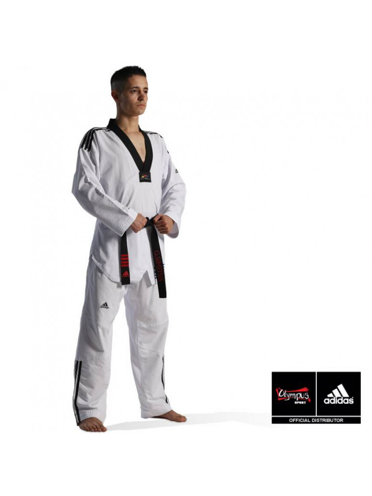 Taekwondo Uniform adidas - FIGHTER /// Stripes ADITF02