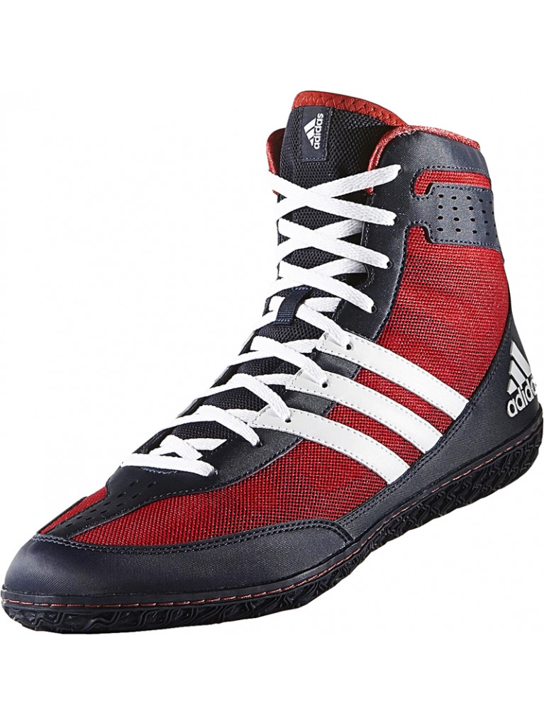 Wrestling Shoes Adidas MAT WIZARD 3 S77971 - Scarlet / Black