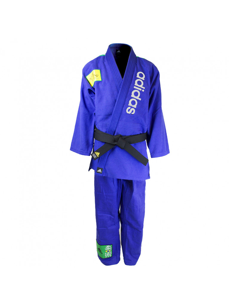 Brazilian Jiu-Jitsu Uniform Blue Adidas