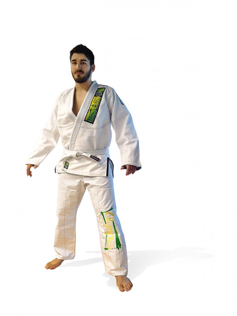 Brazilian Jiu-Jitsu Uniform Olympus White 550 gr Pearl
