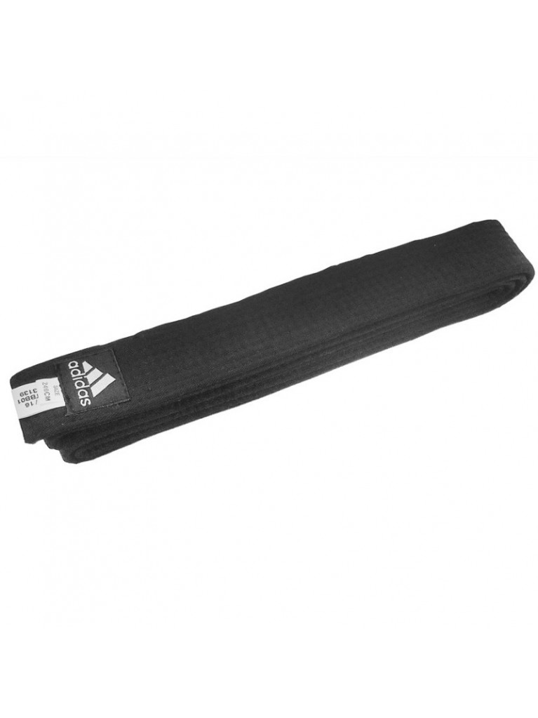 Belt Adidas Black Cotton Regular 4,3cm - adiBB01