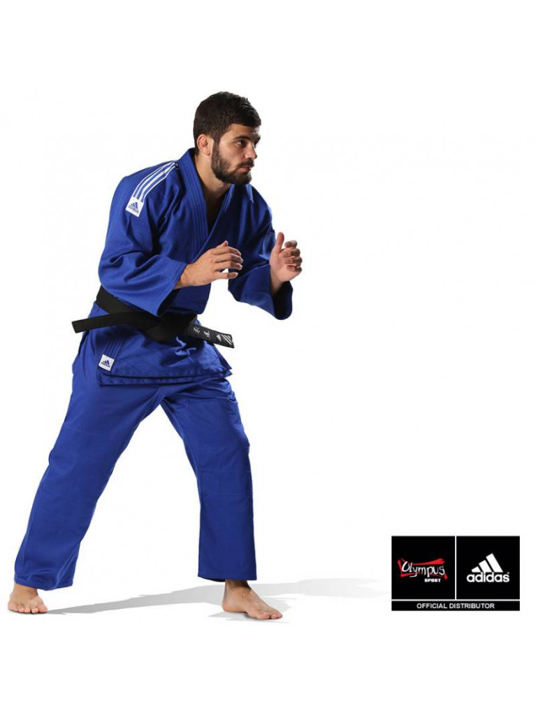 Judo Uniform Adidas TRAINING J500gr/m Blue
