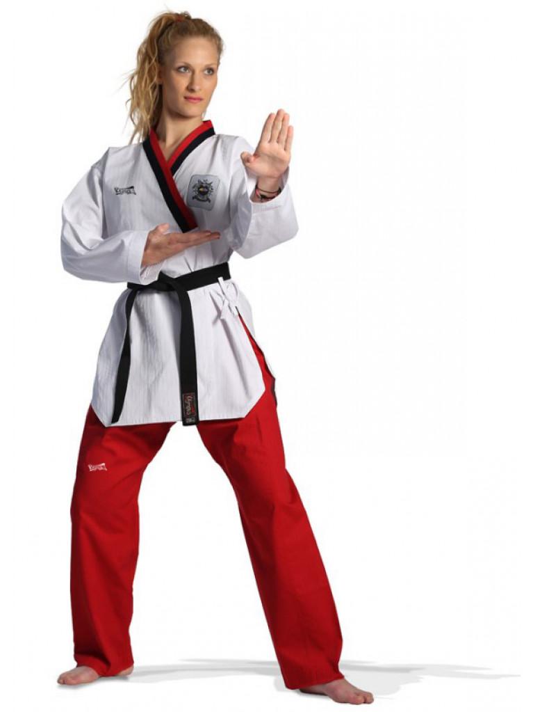65a2b38d8374 Taekwondo Uniform Olympus POOMSAE Youth Female