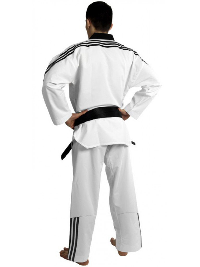 Taekwondo Uniform Adidas ADIFLEX 3 Stripes WTF Approved - ADITFL02