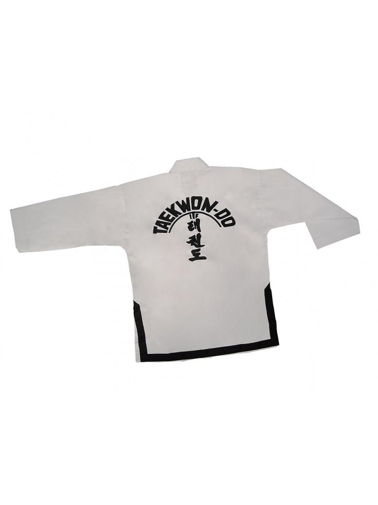 ITF Uniform SMAI Black Belt Dobok Ribbed