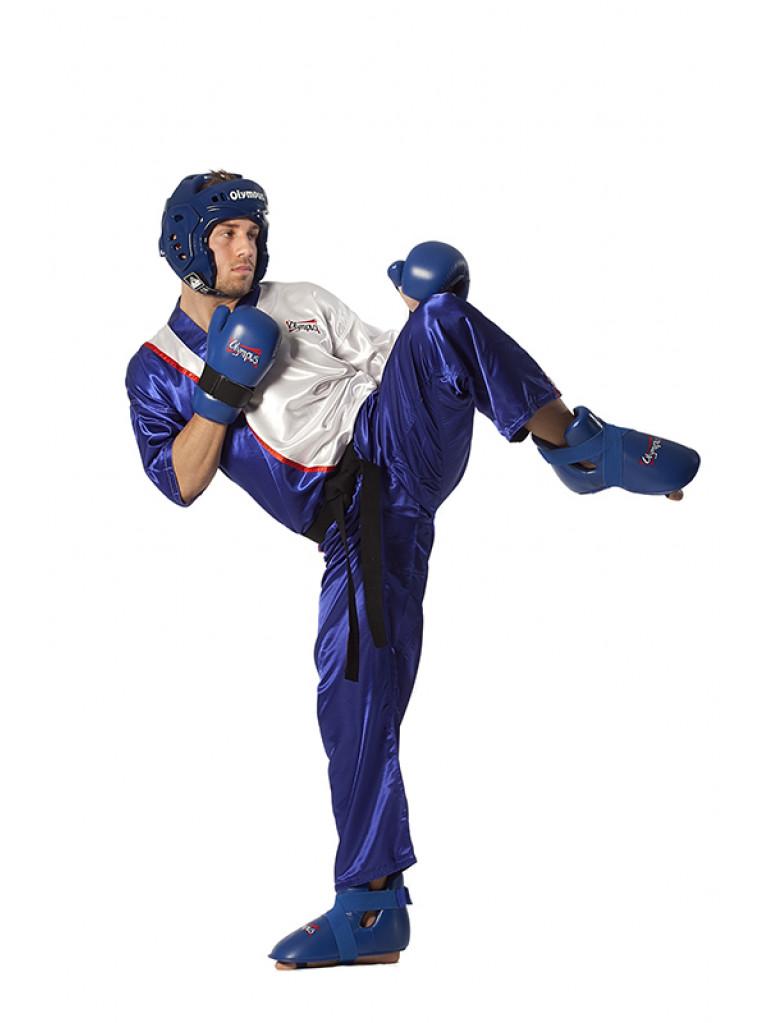 Kick Boxing Team Uniform Olympus Blue/White