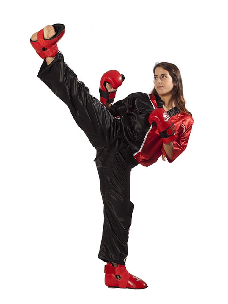 Kick Boxing Team Uniform Olympus Red/Black
