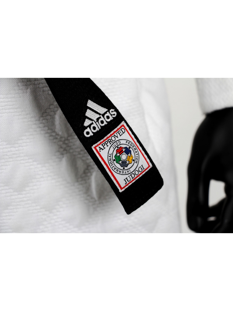 Judo Uniform Adidas J-IJF CHAMPION II IJF White - IJF approved 2015