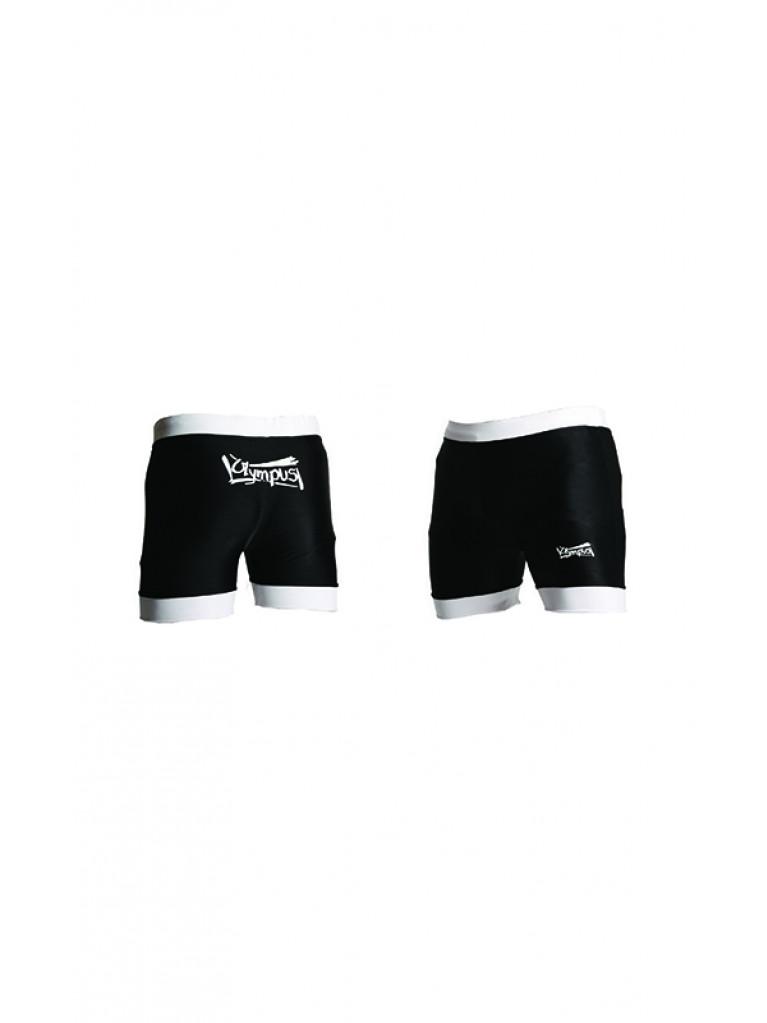 MMA Shorts Lycra Black