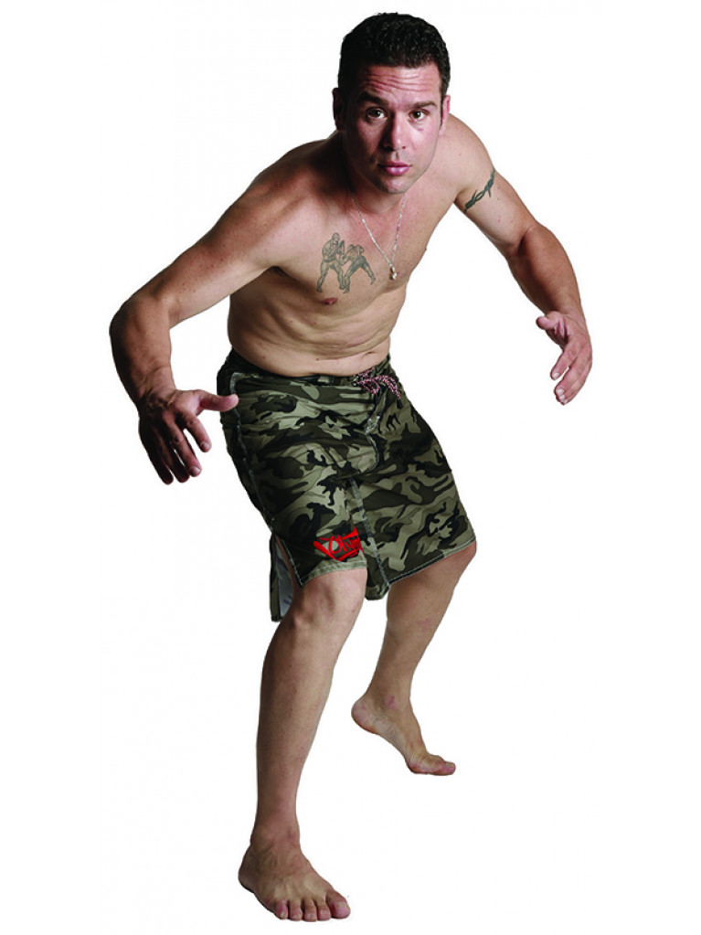 MMA Fight Trunk Camouflage