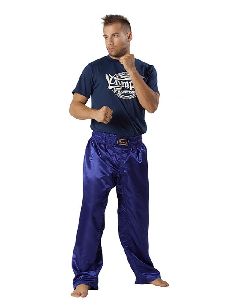 Standard Kickboxing Pants Saten Polyester