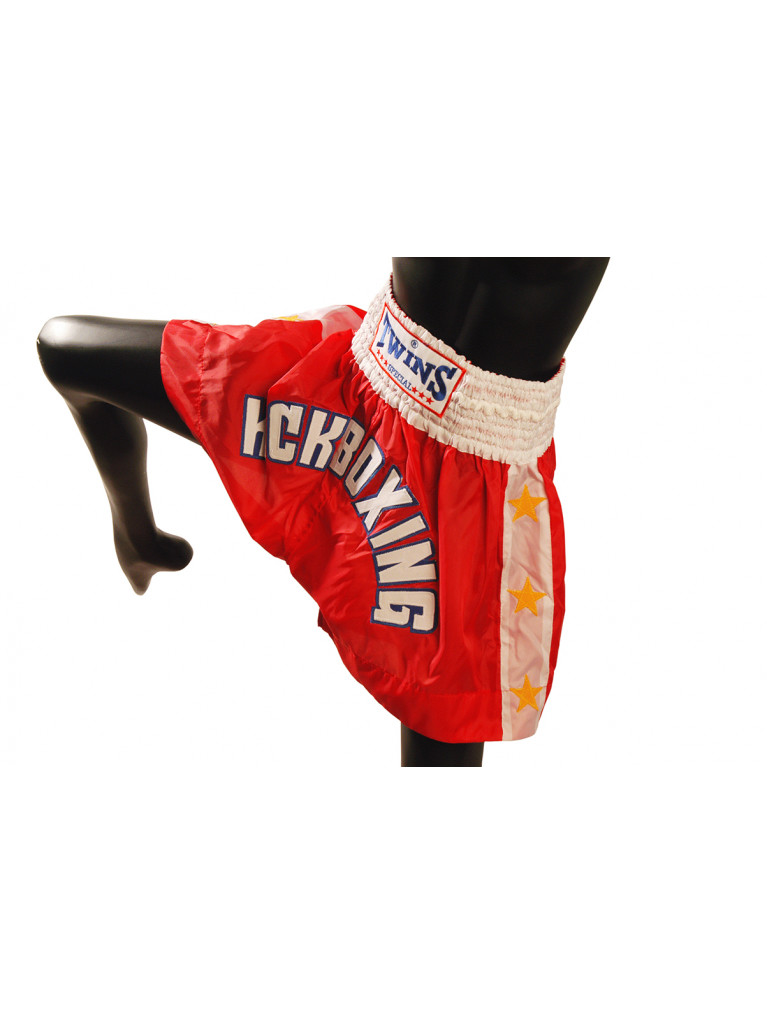 Shorts Twins - KICKBOXING Red