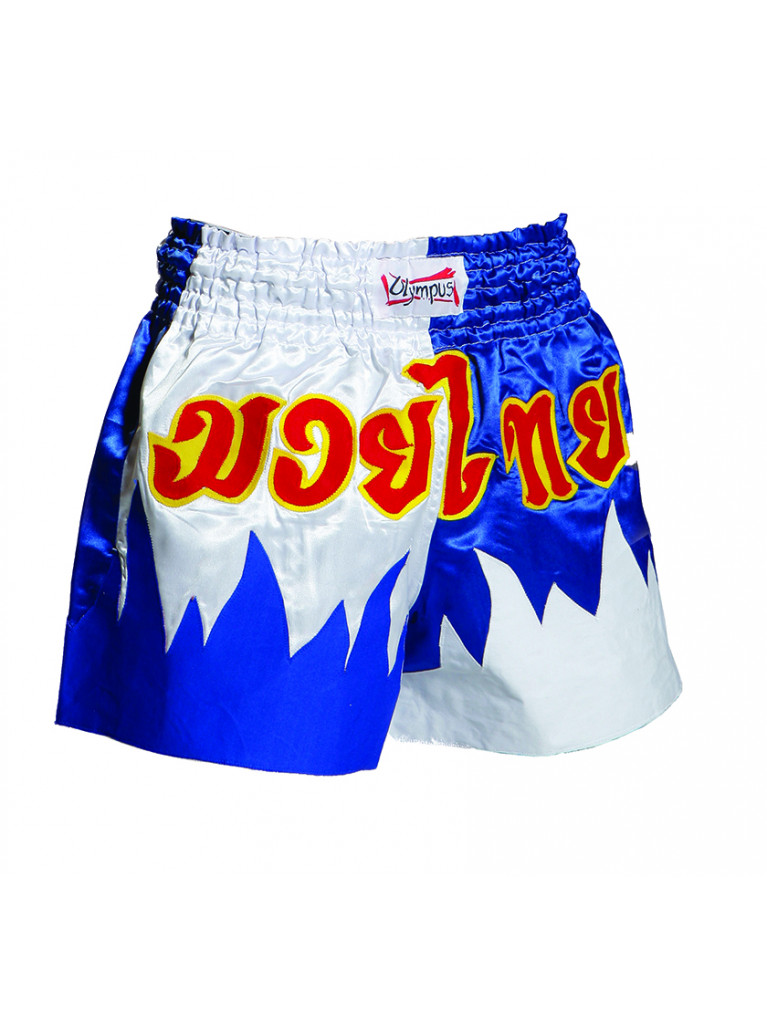 Shorts Olympus - Blue/White Flame