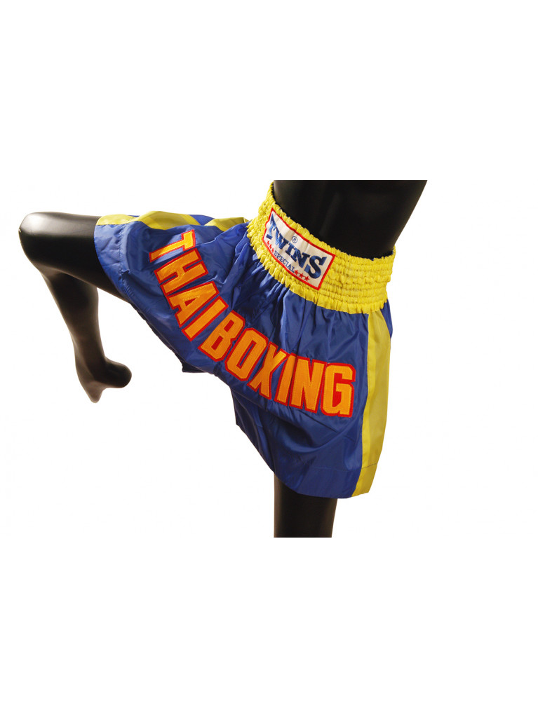Shorts Twins - Thaiboxing Blue