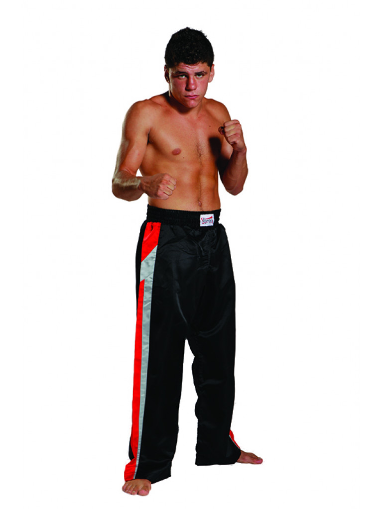 Trousers Olympus Free Style - Black/Red/Grey