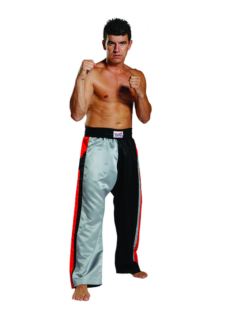 Trousers Olympus Free Style - Black/Grey/Red