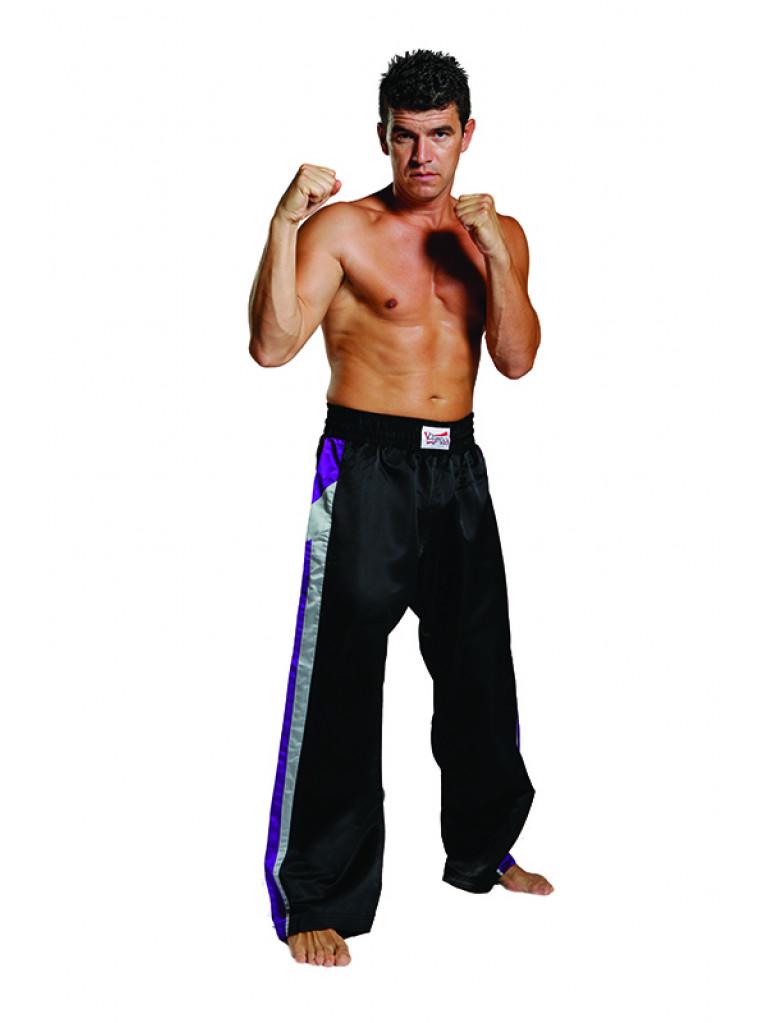 Trousers Olympus Free Style - Black/Purple/Grey