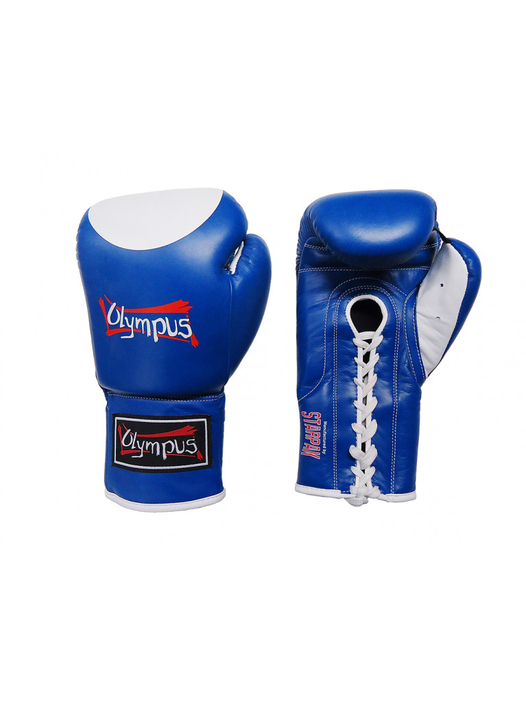 Boxing Gloves Olympus - COMPETITION Professional Lace-up
