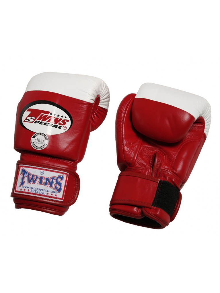 Boxing Gloves Twins - COMPETITION 10oz Red / White