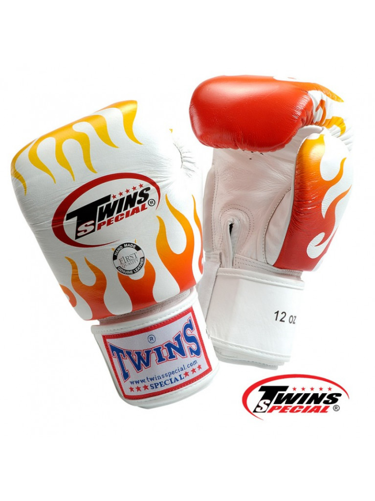 Boxing Gloves Twins - FIRE FLAME