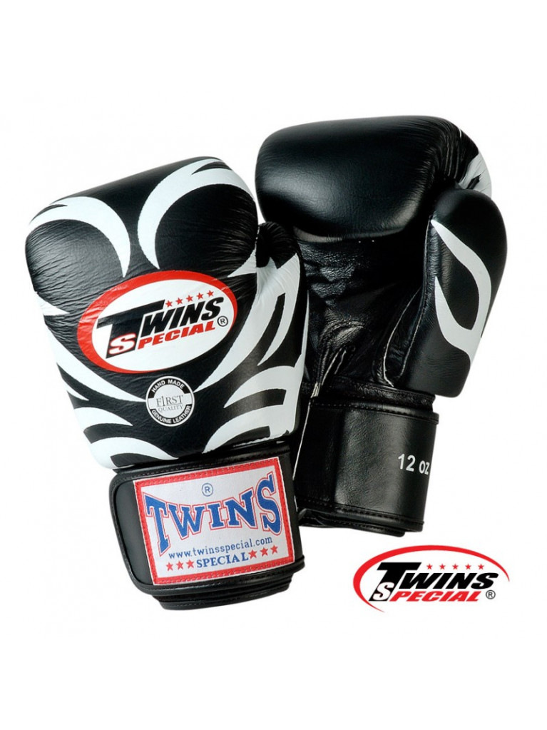 Boxing Gloves Twins - TATTOO Black