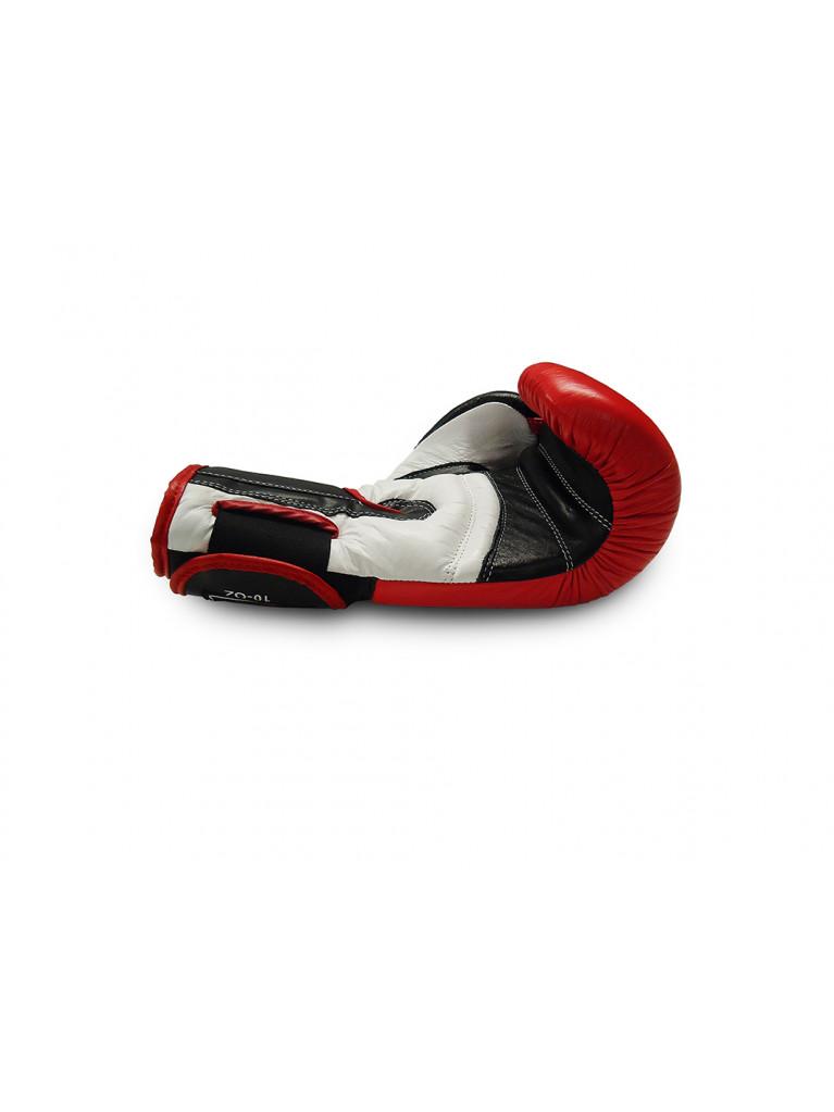Boxing Gloves Olympus - Leather ELITE Red/Black/White