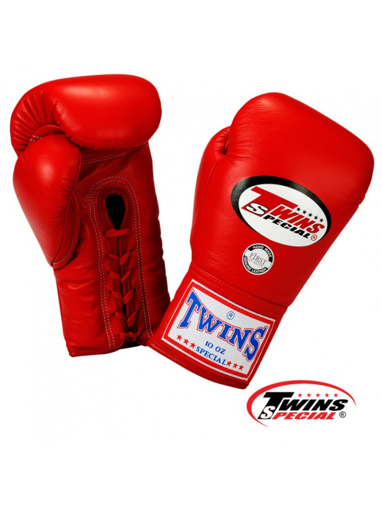 Boxing Gloves Twins - LACE UP Closure 10oz
