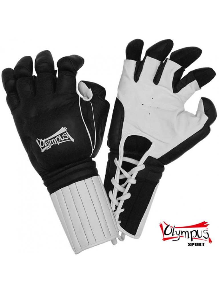 """Bruce Lee """"Enter The Dragon"""" Kempo Gloves Olympus Leather"""