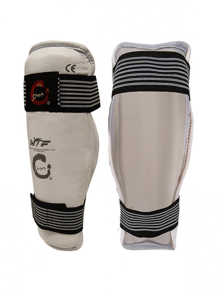 Shin Guard SMAI PVC Taekwondo Carbon Fiber
