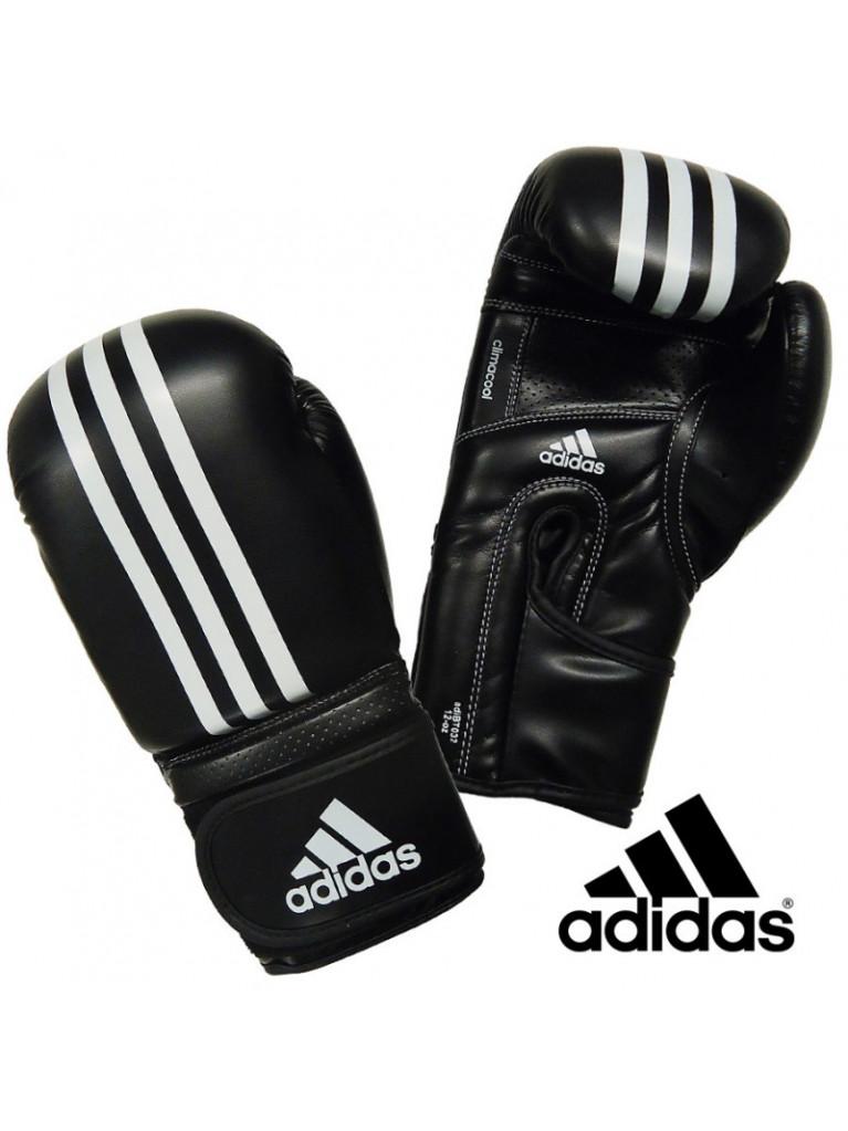 Boxing Gloves Adidas IMPACT PU4G Black / White - ADIBT032