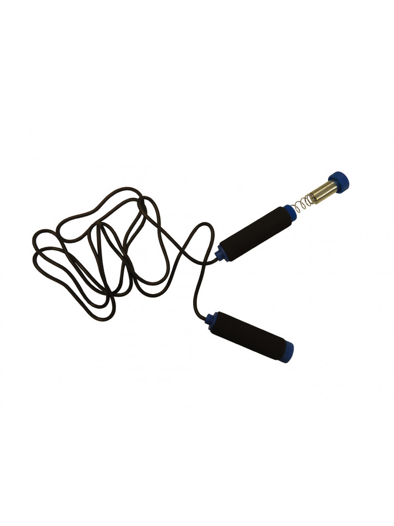 Jumping Rope PVC Foam Handles & Removable Weights 264cm