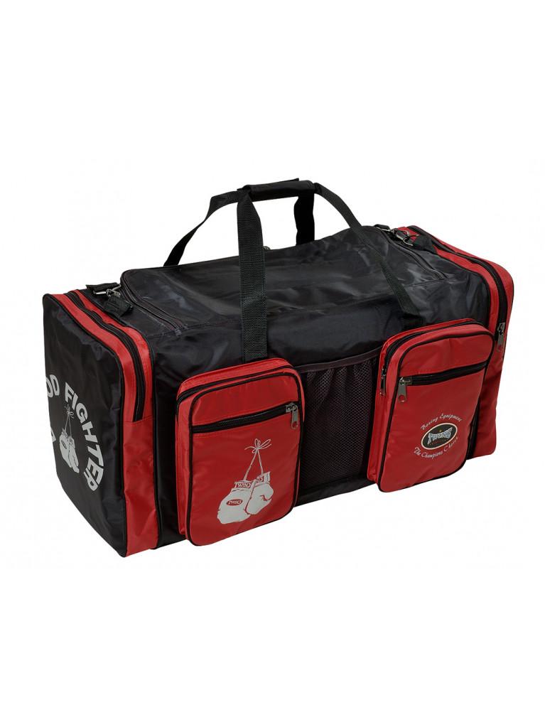 Sport bag TWINS BLOOD FIGHTER - BAG1BlkRed