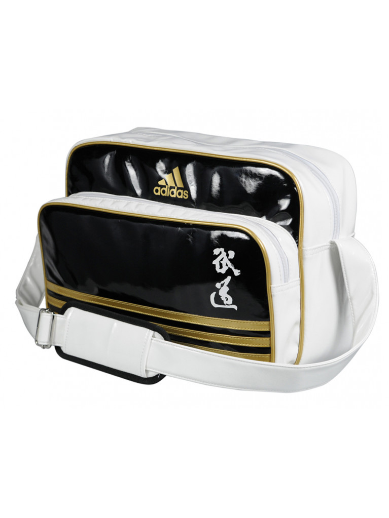 Sport Bag adidas Carry BUDO PU Shiny Material
