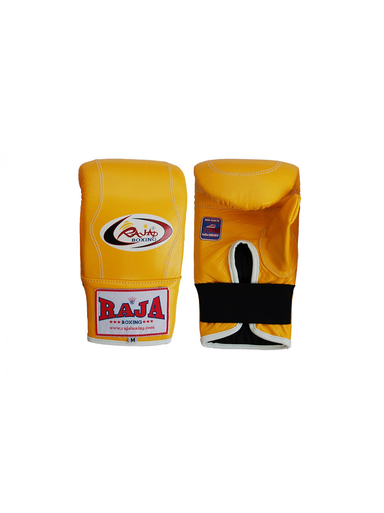 Bag Gloves RAJA Leather Elastic Wrist Closure Full Thump – One Color