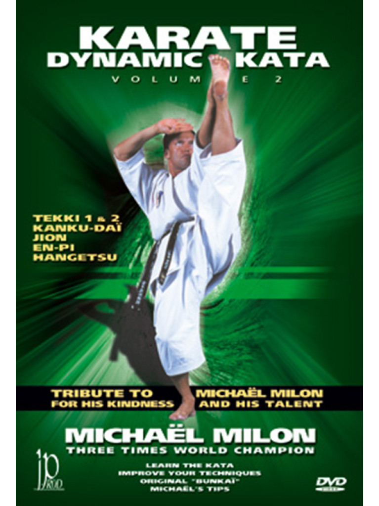 DVD.002 - KARATE Dynamic Kata Vol 2