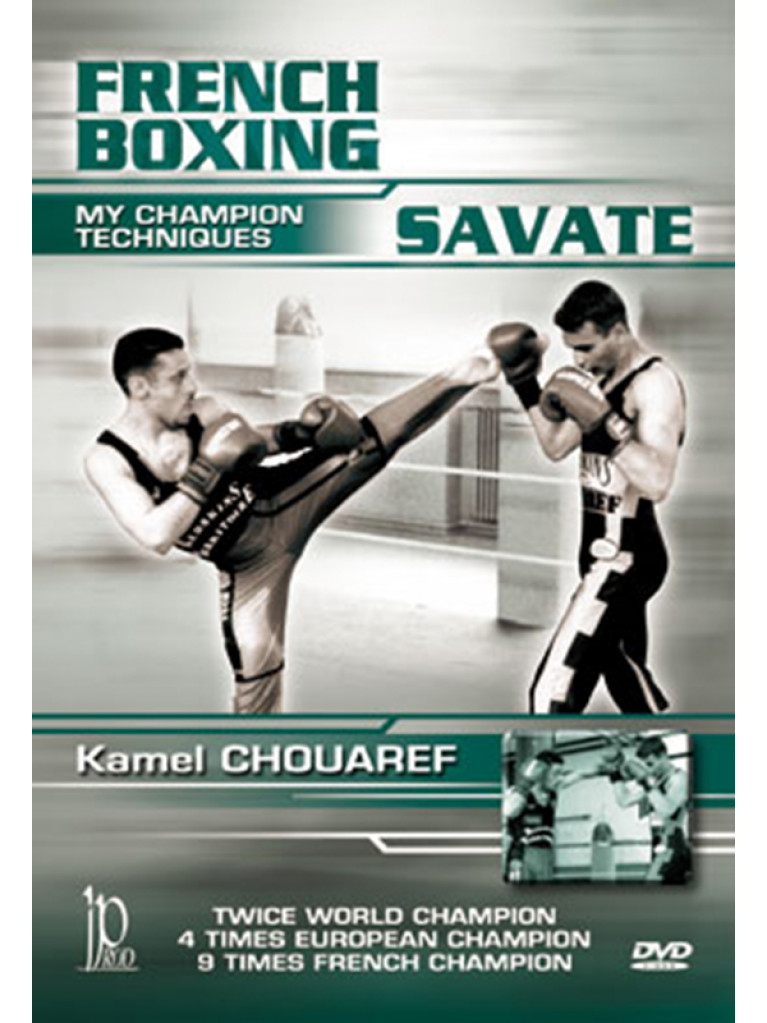 DVD.018 - FRENCH BOXING SAVATE
