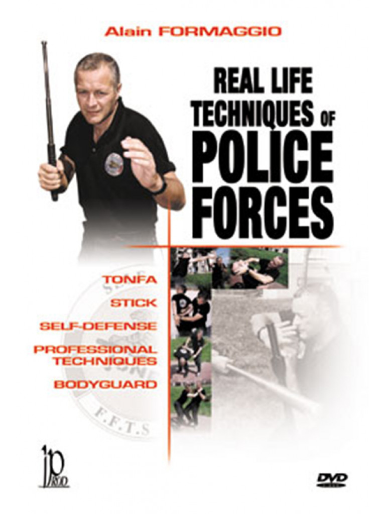 DVD.078 - POLICE FORCE REAL LIFE TECHNIQUES