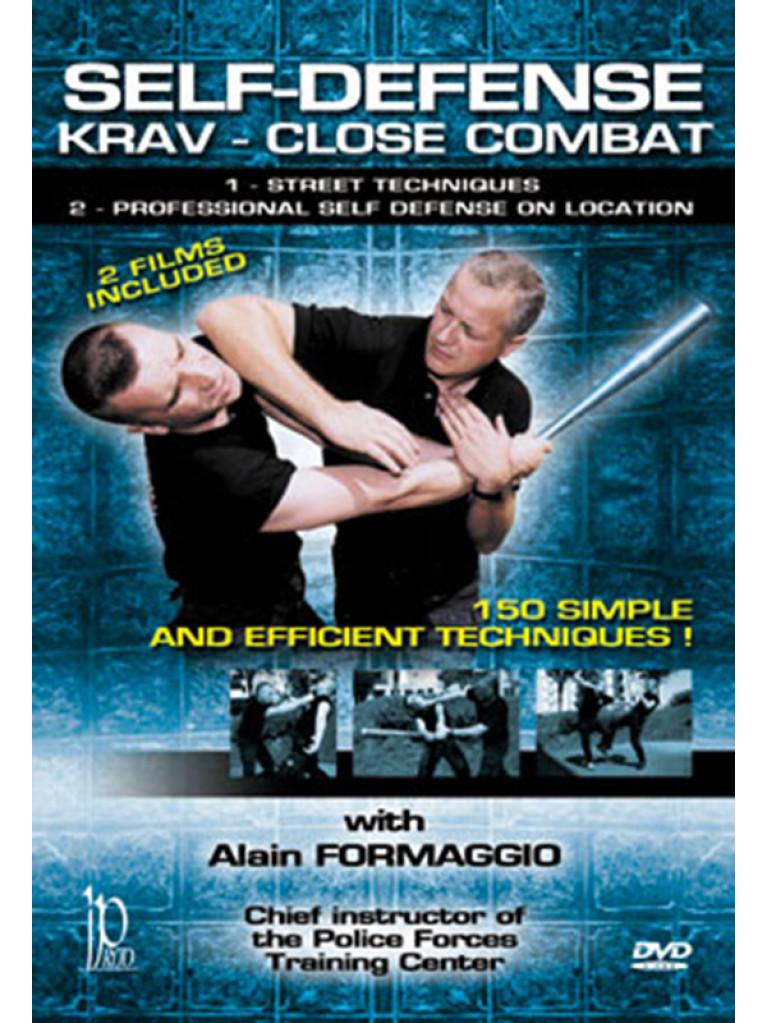 DVD.081 - SELF-DEFENSE KRAV CLOSE COMBAT