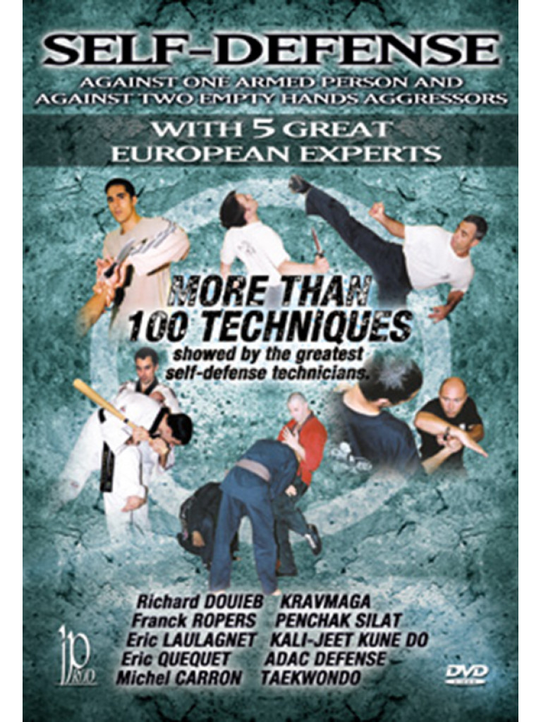 DVD.092 - SELF-DEFENSE MORE THAN 100 TECHNIQUES